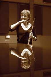 Gaby Pas-Van Riet, flute